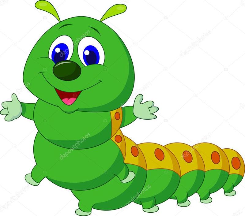 Картинки гусеница для детского сада