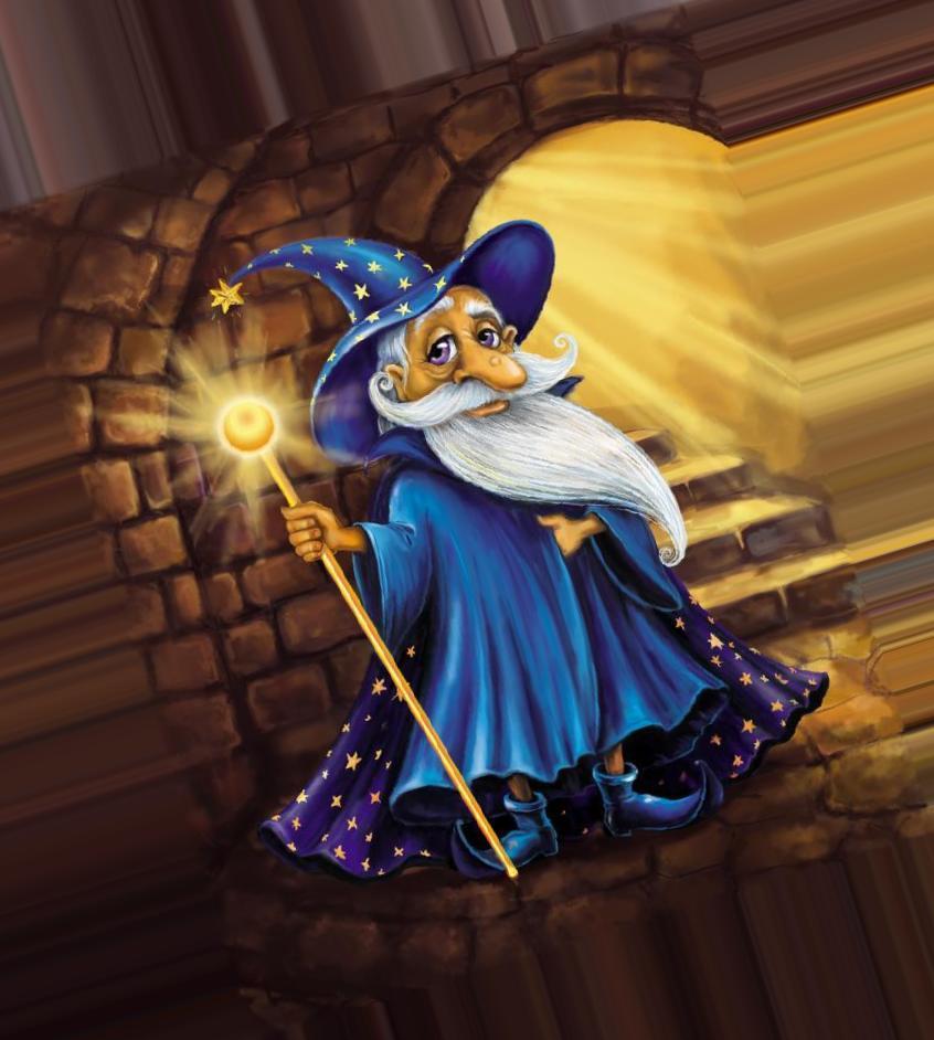 Фейри тейл, картинка с волшебником для детей