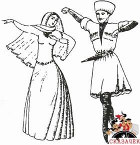 сказка Датуа и петрикела
