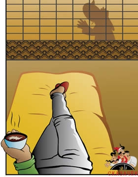 Дырка в сёдзи