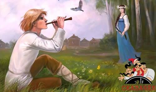 сказка пастух и любопытная девочка