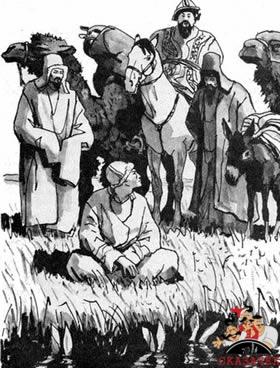 Как Алдар-Косе научил бая возделывать ослов