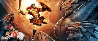 Лернейская гидра (2 подвиг Геракла)-Мифы и легенды Древней Греции