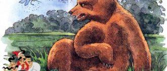 Медведь и комар-