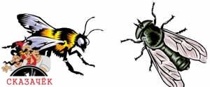 Муха и Пчела-Авторские