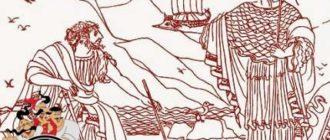 Постройка корабля Арго-Мифы и легенды Древней Греции