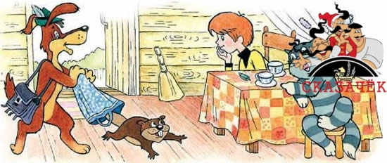 Шарик и бобрёнок читать рассказ Успенского