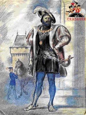 Сказки Шарля Перро - Синяя борода Рис. 2