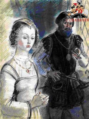 Сказки Шарля Перро - Синяя борода Рис. 15