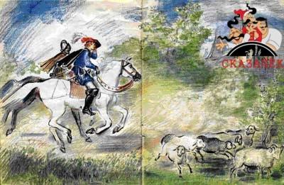 Сказки Шарля Перро - Синяя борода Рис. 16