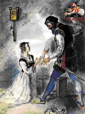 Сказки Шарля Перро - Синяя борода Рис. 17