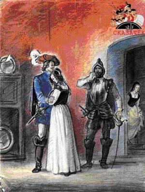 Сказки Шарля Перро - Синяя борода Рис. 20