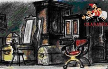 Сказки Шарля Перро - Синяя борода Рис. 12