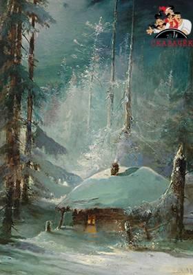 В зимнюю стужу