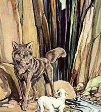 Волк и ягненок-Жан де Лафонтен