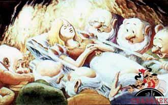 Белоснежка и семь гномов (другой перевод)