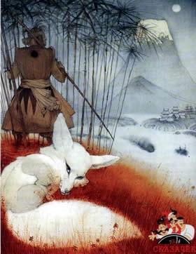 Большой праздник белой лисы