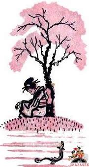 Девочка, вьюн и обезьяна - японская сказка