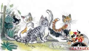 Федорино горе котята