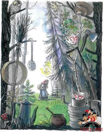 Федорино горе федора ищет свою посуду