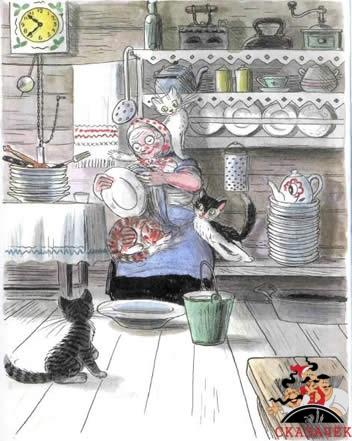 Федорино горе федора нашла посуду чистота дома