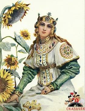 Идолище сватает племянницу князя Владимира