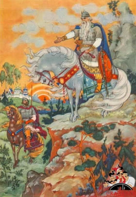 Илья Муромец и Святогор (2 былина)