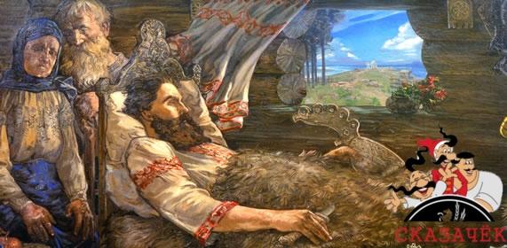 Исцеление Ильи Муромца