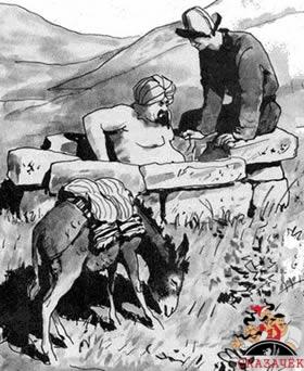 Как Алдар-Косе наказал жадного муллу