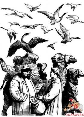 Как Алдар-Косе продал баю ученого зайца