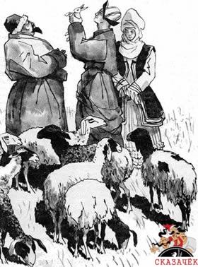 сказка Как Алдар-Косе продал баю ученого зайца