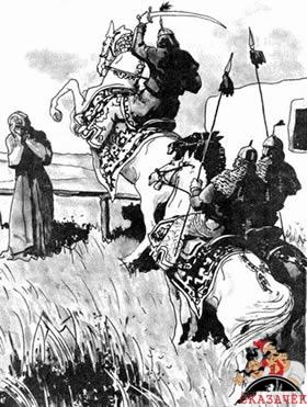 Как Алдар-Косе ушел от погони