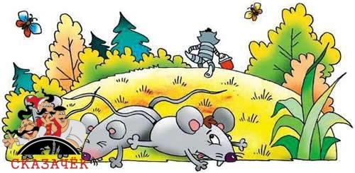 Кот Матроскин и мыши