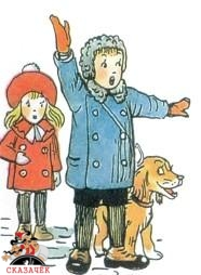 Крокодил мальчик и девочка собака