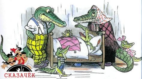 Крокодил родители у коватибольного крокодильчика