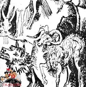 Лиса, медведь и пастух