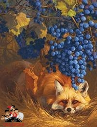 Лисица и виноград - читать басню - Басни Эзопа