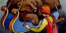 Медведко, Усыня, Горыня и Дугиня богатыри-Народные