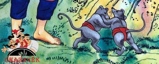 Мышиное сумо сказка