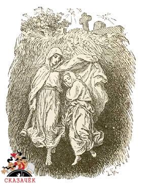 На могиле ребенка
