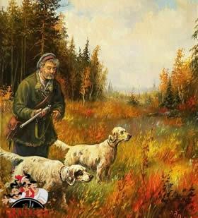 Охотник и собаки читать рассказ Бориса Житкова