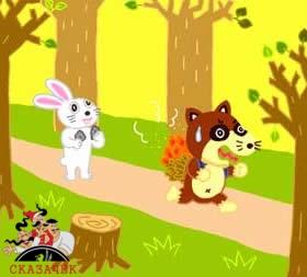 Отважный заяц - японская сказка