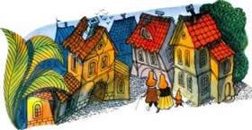 Приключения Чиполлино город