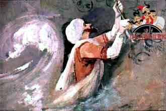 Синдбад-мореход на попадает остров