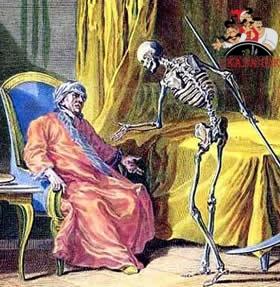 Смерть и умирающий