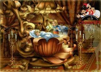 принц уступил свою кроапть Герде