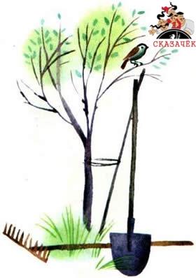 стих Урок в саду читать Агния Барто