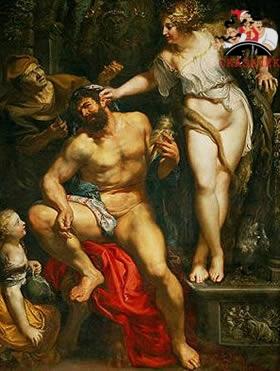 В рабстве у царицы Омфалы