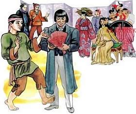 веер молодости японская сказка