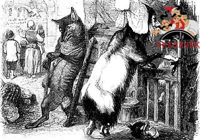 Волк, коза и козленок